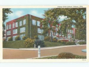 W-Border HIGH SCHOOL SCENE Athens Ohio OH E2541