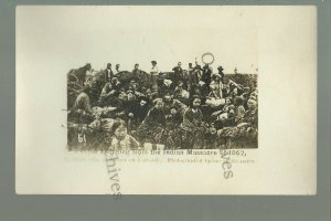 MINNESOTA 1862 SIOUX UPRISING Fleeing from Indians REFUGEES Prairie BROMLEY #51