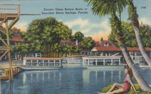 Florida Silver Springs Electric Glass Bottom Boats 1942