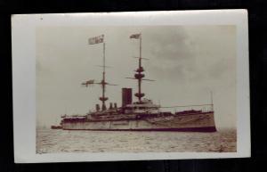 WW 1 Mint RPPC Postcard Warship British England Navy HMS Renown BAttle Cruiser