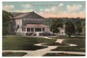 Portland, Me, Theatre at Cape Cottage