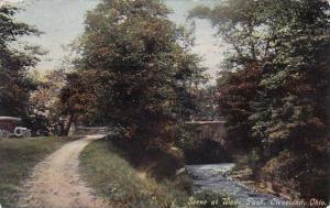 Scene At Wade Park Cleveland Ohio 1911