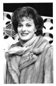 Maureen O'Hara Actress Hollywood Pan American Airlines Real Photo PC JD228119