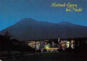 Rottach-Egern am Tegernsee bei Nacht Gesamtansicht
