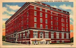 Virginia Winchester George Washington Hotel