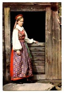 Sweden - Stockholm. Feast Dress for Girl