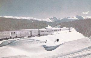 CALIFORNIA, 1950-1960's; Winter Time Travel On The Vista-Dome California Zephyr