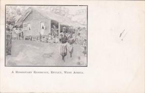 West Africa Epulen A Missionary Residence 1913