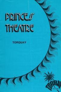 Cilla Black Live In Torquay Devon 1978 Theatre Programme