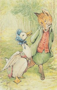 The Tale Of Jemima Puddle Duck 1908 Beatrix Potter Postcard