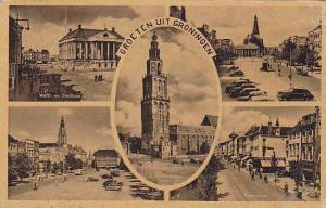 Five- Views, Groeten Uit Groningen, Netherlands, PU-1953