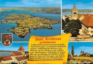 Insel Reichenau im Bodensee St Georg in Oberzell St Peter u Paul Rathaus