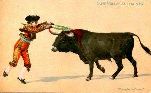 Bullfighting - Quarter Flags