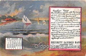 Security Savings Bank Davenport, Iowa, USA Postcard Post Card Davenport, Iowa...