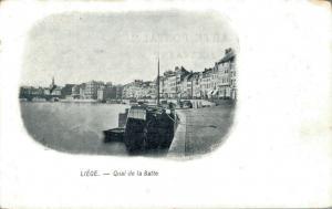 Belgie Quai de la Batte Liege 02.78