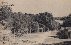 YARMOUTH , Mass. , 1930s ; Royal River Cabins ; #4