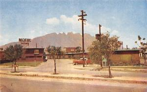 Monterrey, NL Mexico Postcard Tarjeta Postal Motel Alamo Monterrey, NL