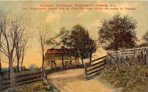 New Jersey  McConkey Homestead George Washington stayed ...