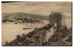 Postcard Old Constantinople Roumeli Hissar Turkey