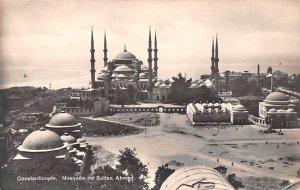 Mosquee de Sutan Ahmed Constantinople Turkey Unused