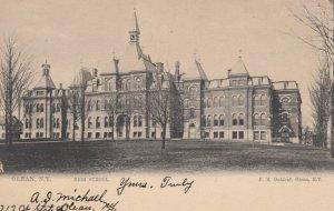 OLEAN, New York, 1905; High School