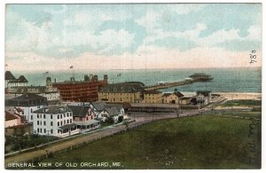 General View Of Old Orchard, Me