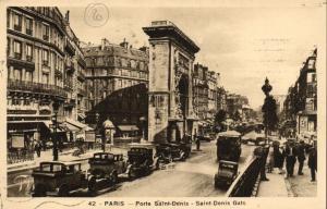 CPA Paris 10e (Dep. 75) - Porte Saint-Denis (76726)