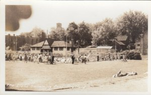 RP: STRATFORD , Ontario , Canada , 1930s-40s ; The Lion's Swimming Pool