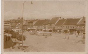 B79392 trebic bus  czech republic front/back image