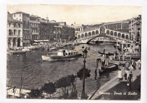 Venice, Venezia, Ponte di Rialto, unused Postcard