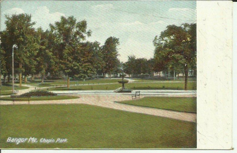 Bangor, Me., Chapin Park