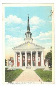 Exterior, St.Joseph Cathedral,Bardstown,Kentucky,00-10s