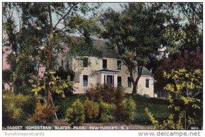 Dagget Homestead Slater Park Pawtucket Rhode Island
