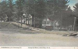 LPS74 Alton Bay New Hampshire View along the Shore Vintage Postcard