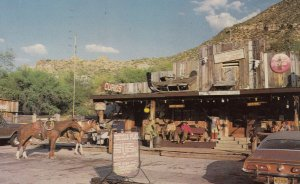 TORTILLA  FLAT, Arizona, 1950-1960s ; Fine Food - Country Music - Riding Stable