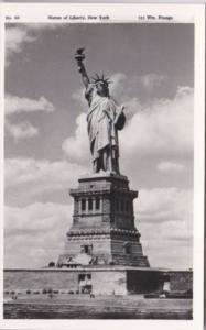 New York City Statue Of Liberty Real Photo