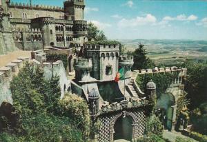 Portugal Sintra Arabian Door Palacio Nacional da Pena