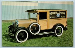 Postcard IA Masonville The Masonville Garage Ford Model A Parts Advertising P15