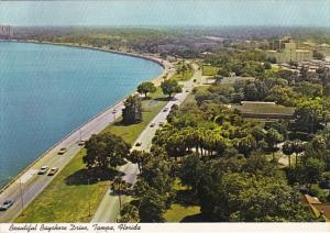 Florida Tampa Aerial View Of Bayshore Drive