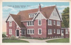 Knights of Pythia's Children's Home , MONTGOMERY , Alabama , 00-10s