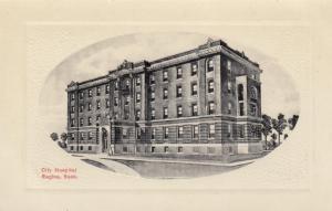 REGINA , Sask. , Canada , 1900-10s ; City Hospital