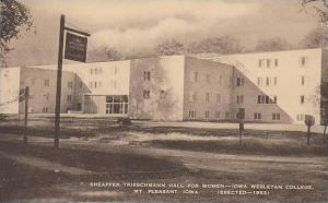 Iowa Mount Pleasent Shaffer Triesmann Hall For Women Iowa Wesleyan College Ar...