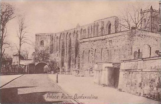 Scotland Dunfermline Palace Ruins