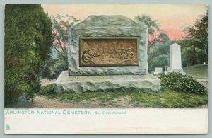 Arlington Virginia~National Cemetery~Gen Crook Memorial~Indians Tablet~1905 TUCK