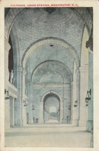 WASHINGTON D.C. , 1910s ; Colonade , Union Station
