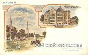Milwaukee Patriographics, Postcard Postcards  Milwaukee