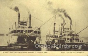 Silver Crescent And Quincy Ferry Boats, Ship 1911