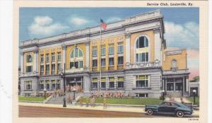 Service Club, Classic Car, Military Men, LOUISVILLE, Kentucky, 30-40's