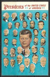 Presidents Of The USA - Washington To Kennedy - [MX-300]