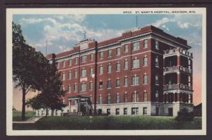 St Mary's Hospital,Madison,WI Postcard